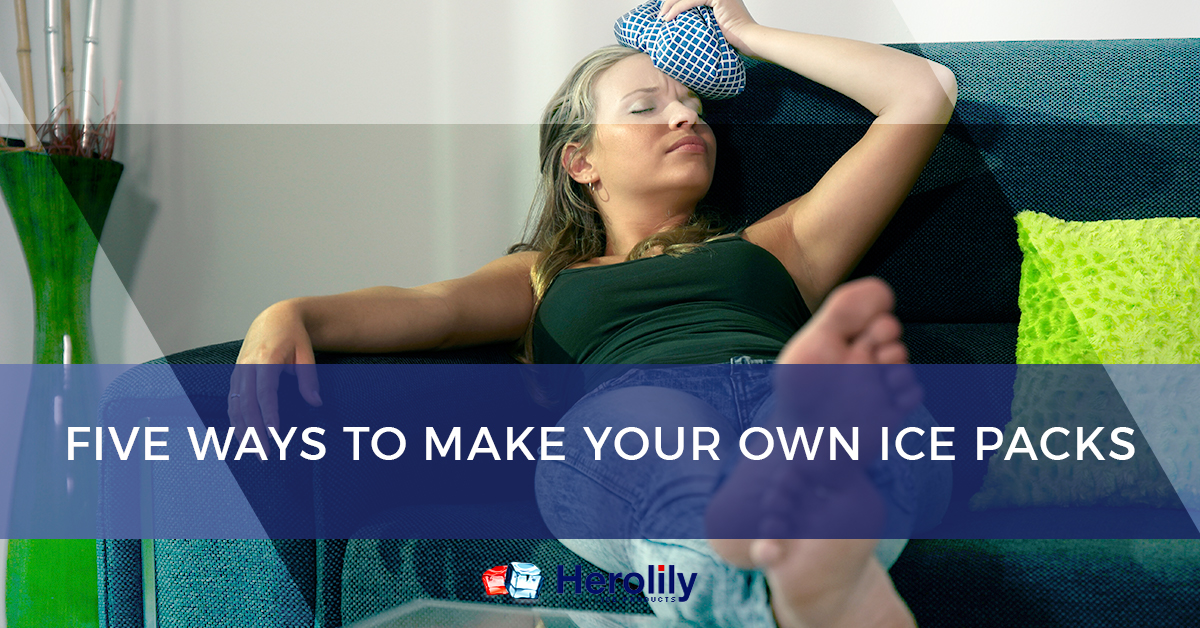 Five ways to make your own ice packs